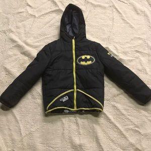 Kids wear boys Batman Puffer Jacket